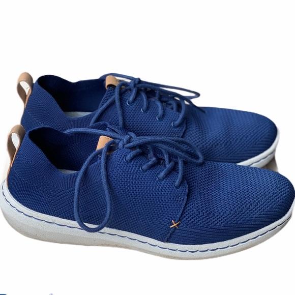 Mens Cloudsteppers Navy Blue Sneakers